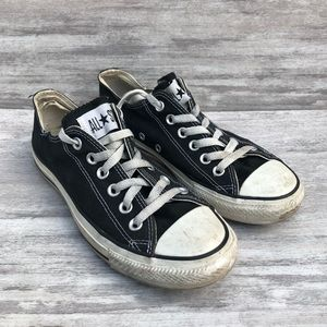 CONVERSE all star black lace up low top sneaker